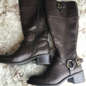 Chaps Brown Riding Boots! 5.5M!